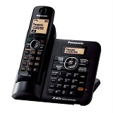 PANASONIC Cordless Phone [KX-TG3811] - Black - Wireless Phone